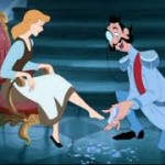 "Playing stapu in Cinderella's ""size four"" shoe…"