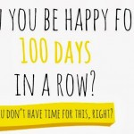 100 Happy Days: A new year list