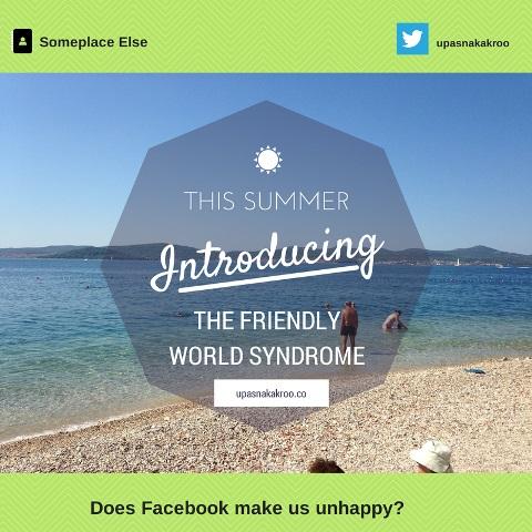 Does Facebook make us Unhappy