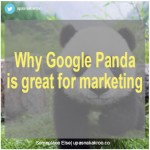 Why Google Panda is great news for marketing & consumers alike!