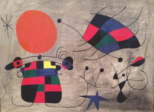 Reina Sophia Joan Miro Spanish art
