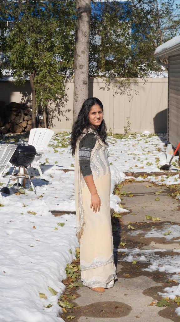 The Saree Project Week 4, Kunbi Drape