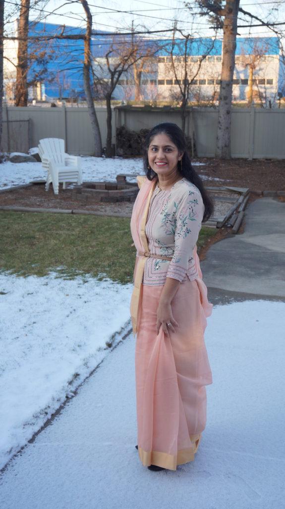 The Saree Project Seedha Pallu